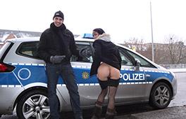German Mom Public Berlin